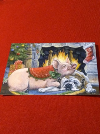 Christmas Card - Warm Joys
