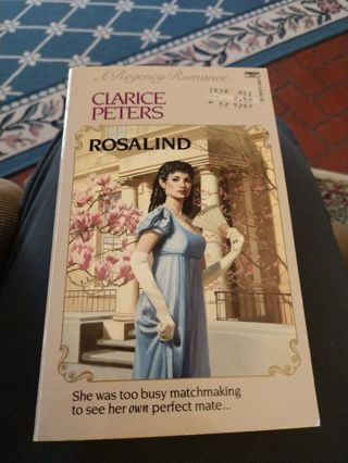 Rosalind by Clarice Peters (paperback)