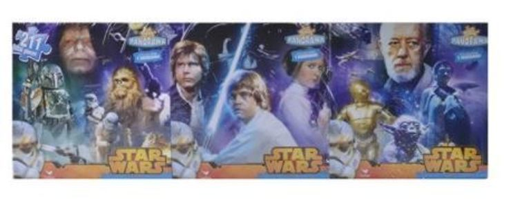 NEW Star Wars Original Trilogy 3 in 1 Panoramic Puzzle Set 211 Total Pieces ~ LOW GIN