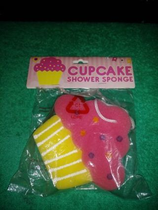 ❤✨❤✨❤BRAND NEW FOAM KAWAII CUPCAKE BATH/SHOWER SPONGE❤✨❤✨❤ONLY 1!