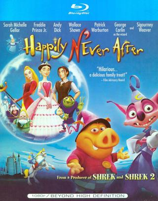 Happily N'Ever After (Digital HD Download Code Only) **Sarah Michelle Gellar** **George Carlin**