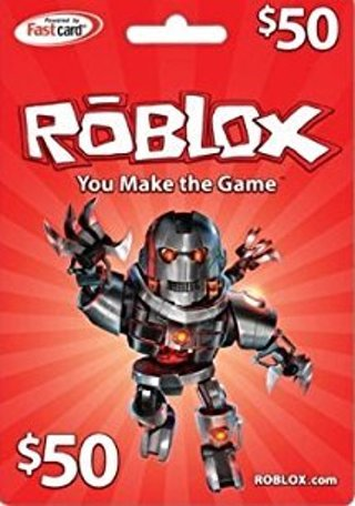 Free 50 Roblox Gift Card Video Game Prepaid Cards Codes Listia Com Auctions For Free Stuff