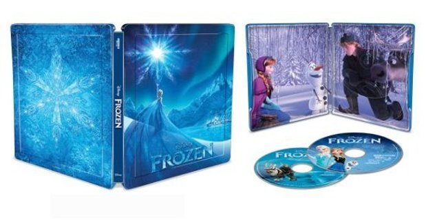 Limited Edition Frozen 4K + Blu-ray + Digital Steelbook