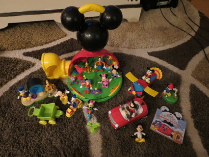 Free Htf Rare Baby Toddlers Kids Mickey Mouse Clubhouse Interactive