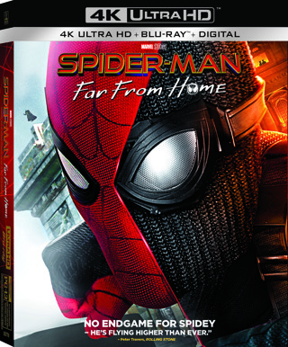 Spider-Man : Far From Home (Digital 4K UHD Download Code Only) **Tom Holland** **Jake Gyllenhaal**