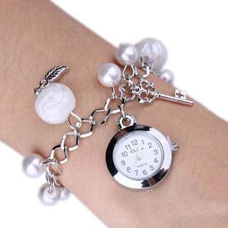 Mode Charms Filles Femmes Quartz Bracelet en perles bracelet chaîne Hot