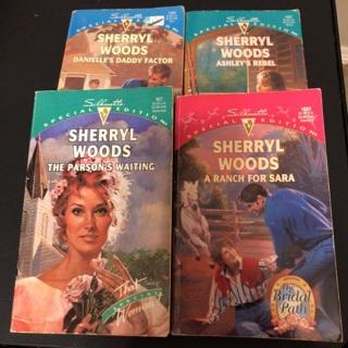 4 Sherryl Woods Paperbacks