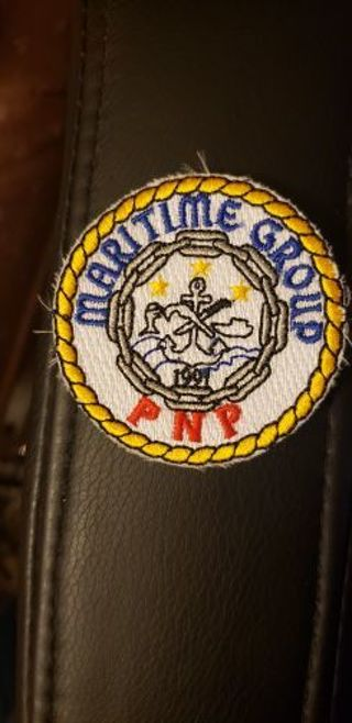 Philippines National Police Maritime Group Police patch
