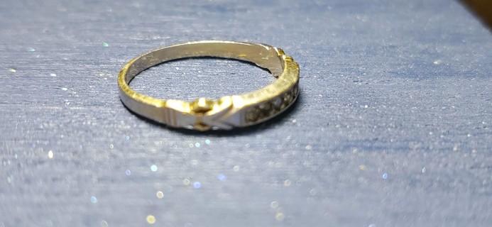 Ring, Estate Find, size 6, marked