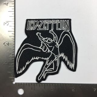 1 X Led Zeppelin Songs Music Symbols Iron on Patch Applique Badge Adhesive FREE SHIPPING