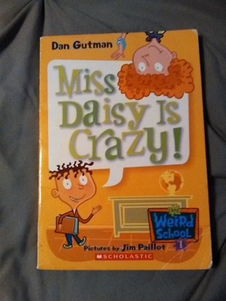Miss Daisy Is Crazy Book -- NEW!!