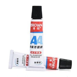 20ml Super Adhesive Shoe Glue Tube Leather Rubber Repair Strong Bond Fast Paste