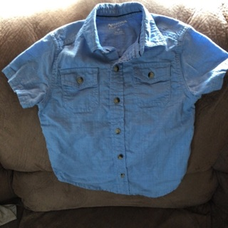NWOT Girls Button Down Blouse Size 5T