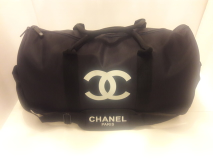 NEW, CHANEL VIP Gift Gym/Travel Large Duffle Bag