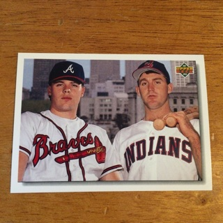 1992 Upper Deck - [Base] #1 Star Rookie Checklist w/ Ryan Klesko & Jim Thome