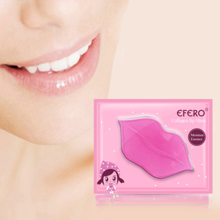 1 Bag Collagen Lip Mask Pad Vitamin Nourishing Lip Patches Moisturizing Exfoliating Lips Plumper