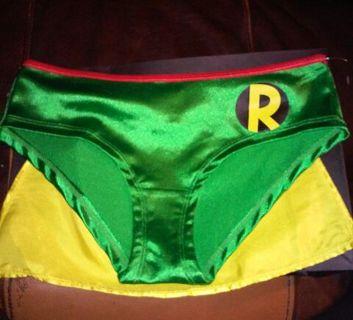 ✧ BRAND NEW DC Robin Panties ✧