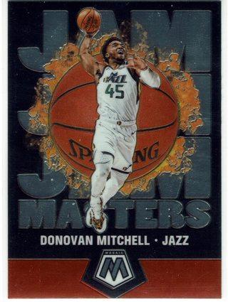 Donovan Mitchell Jam Masters Insert 2019-20 Mosaics Utah Jazz