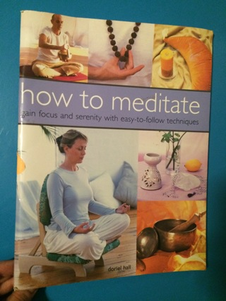Book on How To Meditate - Free Ship