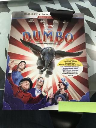 Disney Dumbo Blu-ray & DVD