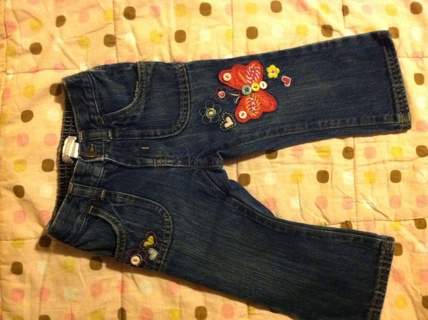 Old Navy jeans size 18 to 24 months