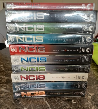 New NCIS dvd seasons 1-9 & 12