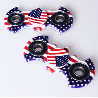3D Batman USA Fidget American Flag Hand Spinner Finger Toy EDC Focus Desk Ball
