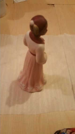 """Home interiors and gifts """"Louise"""" Porcelain figurine."""