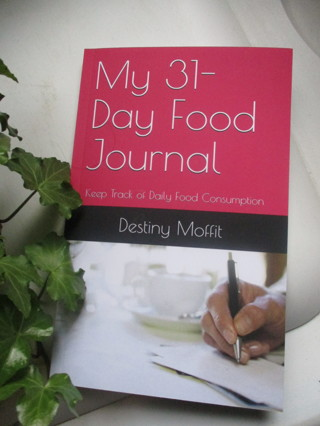 31-day food journal diary. New.