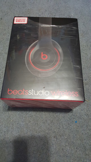 Brand New* Beats Studio Wireless *Black with Red*