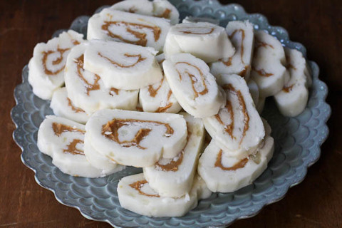 GRANDMA'S SUGARED POTATO & PEANUT BUTTER SWIRL CANDY + 4 BONUS RECIPES