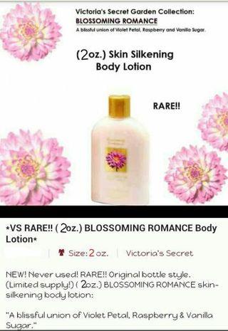 ♥RARE!! VICTORIA'S SECRET - BLOSSOMING ROMANCE -SET♥