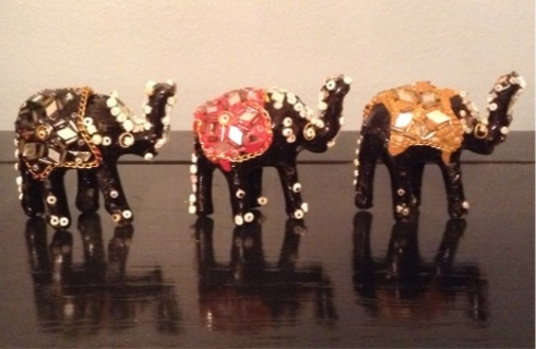 Pick 2 - Jeweled Elephants from India