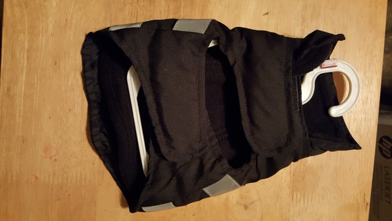 NEW W/O TAG TWO LAYER EXTRA SMALL DOG COAT