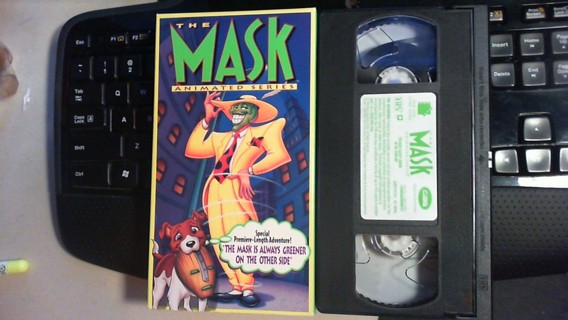 free the mask animated series vhs tape vhs listia com auctions