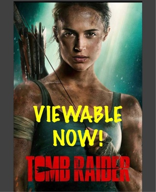 TOMB RAIDER ~UV HDX View Tonight! Proud Mary SD as free gift!