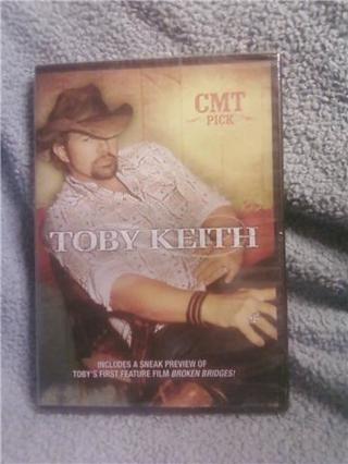 Limited Edition Toby Keith unopened DVD