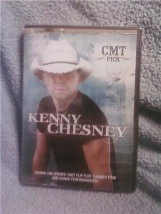 Kenny Chesney CMT picks music DVD *unopened*