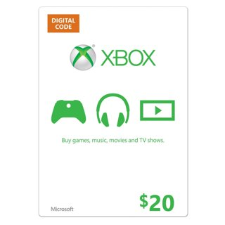 Free: Xbox $20 Gift Card [Online Game Code] Xbox 360, Xbox