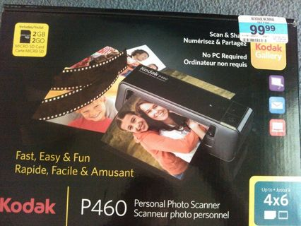 Photo scanner * Kodak NEW *