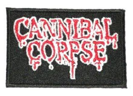 1 CANNIBAL CORPSE PATCH Music Band Embroidered IRON ON Patch Accessories Clothing FREE SHIPPING