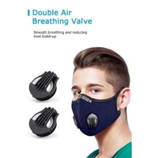 Double Breathing Valve Cloth Masks #Covid