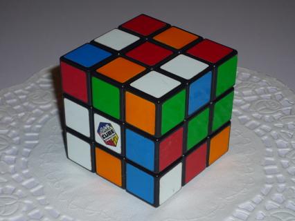 Original RUBIK'S CUBE Puzzle Brain Game in Excellent Condition!