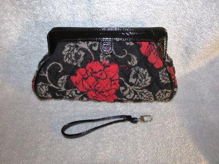 Vera Bradley Jacquard Clutch Purse / Wristlet  Limited Edition