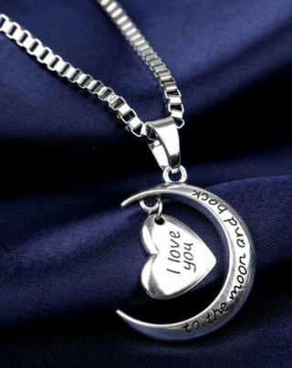 ❤~I Love You To The Moon and Back~❤ Fashion Necklace NEW Free Shipping!!