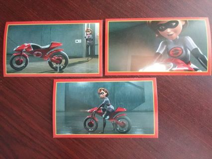 """The Incredibles 2"" Collection Stickers"