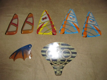 Lego Wings Sails Windsurfer Parts and Pieces