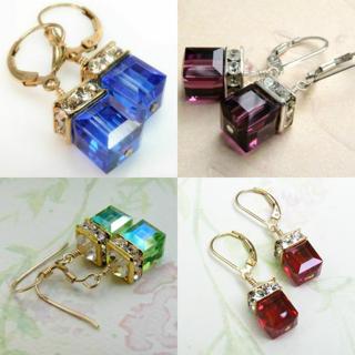 [GIN FOR FREE SHIPPING] Turkish Handmade Boho 925 Silver Amethyst Ear Stud Earrings