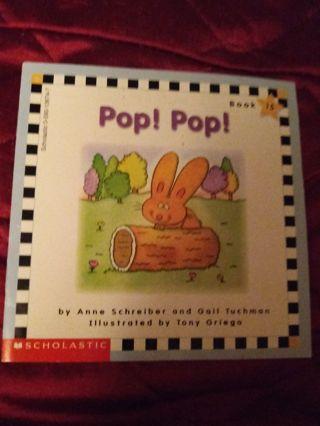 Used Children's Scholastic Book Pop! Pop!