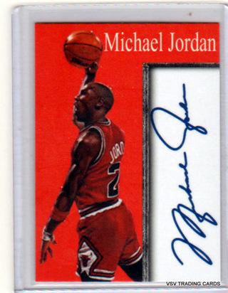 MICHAEL JORDAN, Inkredible Ink Facsimile Autograph Card